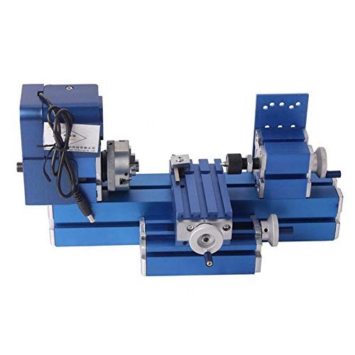 Best Deals! Hengwei Mini Lathe Machine Motorized 24W DIY Tool Metal Woodworking Hobby Modelmaking fo...