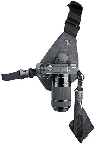 Cotton Carrier Skout Sling Style Harness for One Camera - Grey