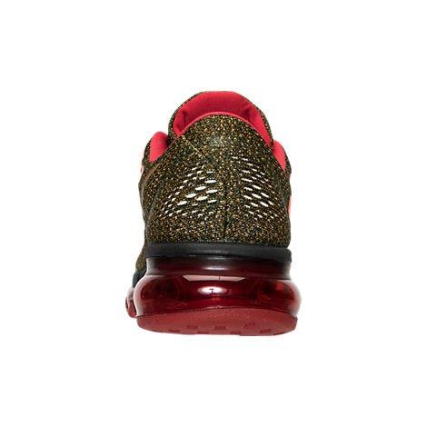 Nike Kvinders Air Max 2016 Rcr, Sort / Metallisk Guld - Bred Appelsin -atomic Pn Størrelse 8