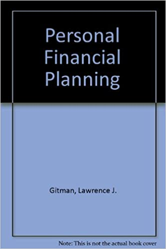 personal financial planning book and worksheets 9780030159985