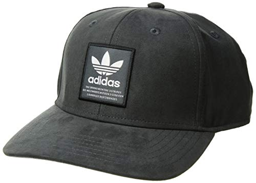 adidas Men's Originals Patch Trucker Structured Cap, Onix/white/black, One Size