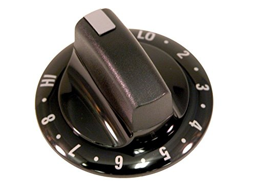 316208101 Kenmore Range Knob black