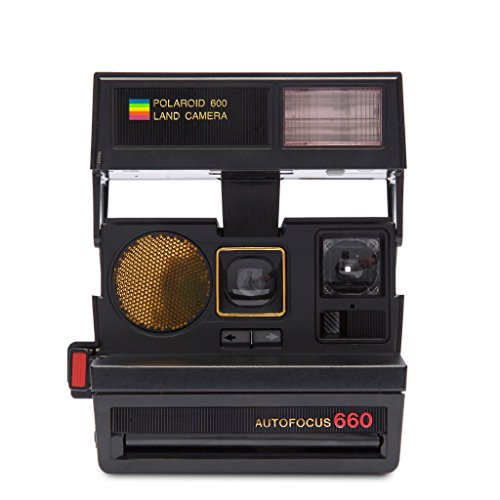 Polaroid Originals 4711 Sun 660 Autofocus Camera, Black