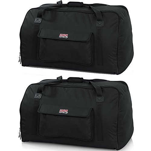 Gator GPA Tote Bag Pair for 15'' Speakers (2 Bags) by Gator