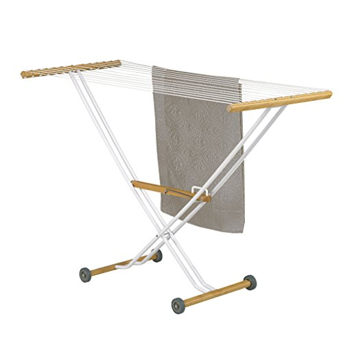 Luxury Indoor Clothes Drying Rack Foldable with Wheels