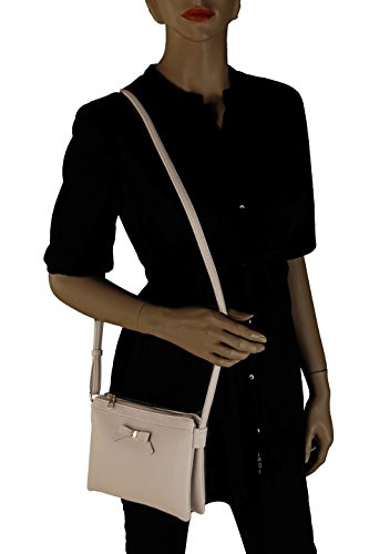 Crossbody Style Waist K Collection Farrow Celebrity Brown Anastasia MKF Bag Saddle Bag by Mia qC1wWI