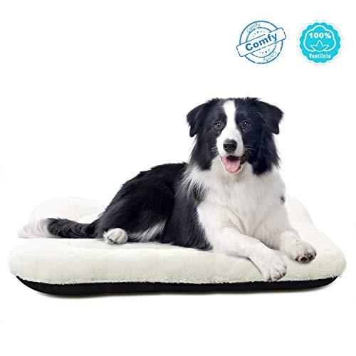 ANWA Dog Crate Bed Large Washable Crate Pad Dog Cushion Big Dog 36 INCH (Pet Crate 36)
