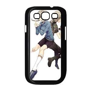 Steins Puerta Samsung Galaxy S39300Caso Negro teléfono móvil funda nkzhiqq8192