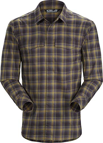 Arc'teryx Gryson LS Shirt Men's (Radiant Darkness, Large) from Arc'teryx