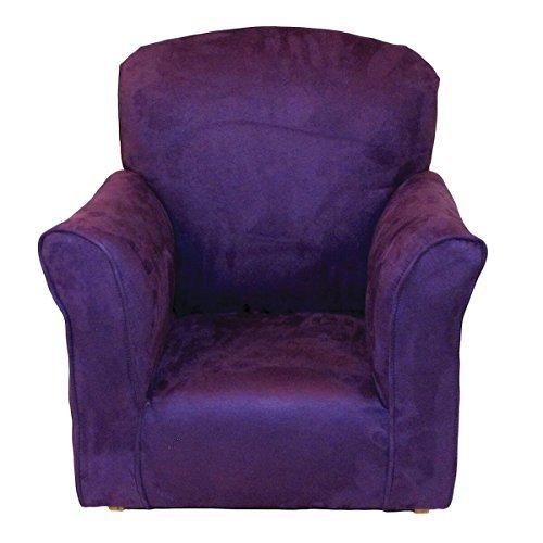 Brighton Home Furniture Toddler Rocker in Purple Microfiber by Brighton Home Furniture