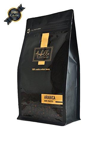 100% Arabica Coffee Beans Organic 3 Bean Dark Roasted Whole Beans