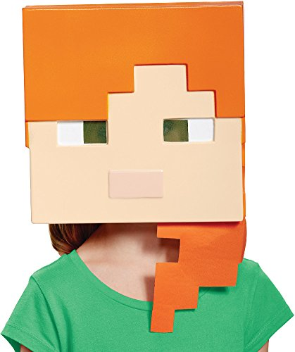 Alex Minecraft Child Mask