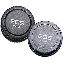 Pixel Lens Rear Cap + Camera Body Cap for Canon EOS 7D, 50S, 1DS ,6D, 50D ,40D ,30D, 20D, 10D...etc