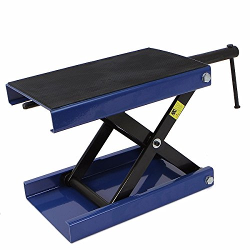 Thegood88 1100 Lb Wide Deck Motorcycle Center Scissor Lift Jack Hoist Stand Bikes Atvs