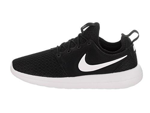 Nike Vrouwen Roshe Twee Zwart / Zwart Wit Hardloopschoen 8.5 Vrouwen Ons