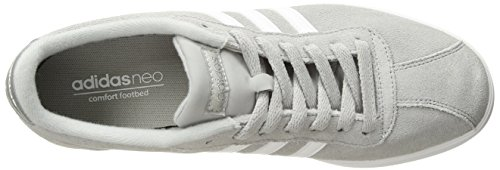 Silver Metallic White Light Women's Courtset Onix adidas Sneaker q0gSxqf