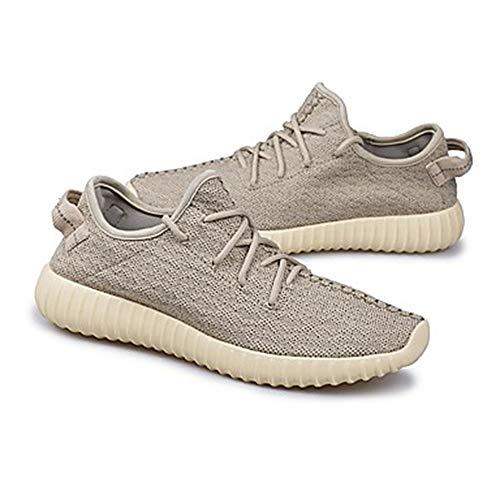 us7 tulle eu37 Tonda Cachi Estate 5 Scarpe autunno Donna cn37 Comoda Nero grigio Sneakers Per Maglia Punta uk5 khaki Piatto Ttshoes Corsa A OwHXnqanU