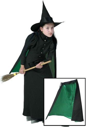 [Fun Costumes mens Classic Witch Cape Standard] (Classic Black Witch Costumes)