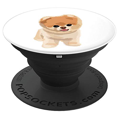(Awesome! Fluffy Dog graphic PopSocket for your cell phone!! - PopSockets Grip and Stand for Phones and)
