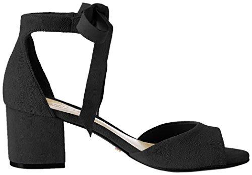 Schutz S2-00010097, Sandali con Cinturino alla Caviglia Donna Nero (Black Black)