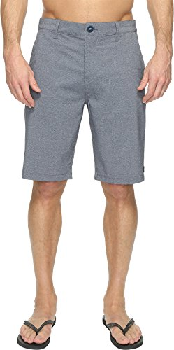 Rip Curl Men's Mirage Phase Boardwalk Short, Navy, 33 (Curl Walkshorts Mens Rip)