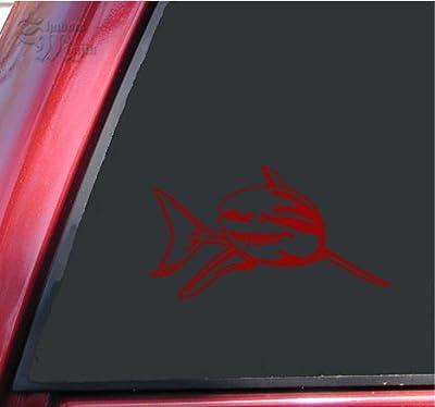 Great White Shark Vinyl Decal Sticker - by ShadowMajik