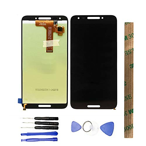 (JayTong LCD Display & Replacement Touch Screen Digitizer Assembly with Free Tools for Alcatel A30 Fierce 5049W 5049Z Revvl T-Mobile 5.5