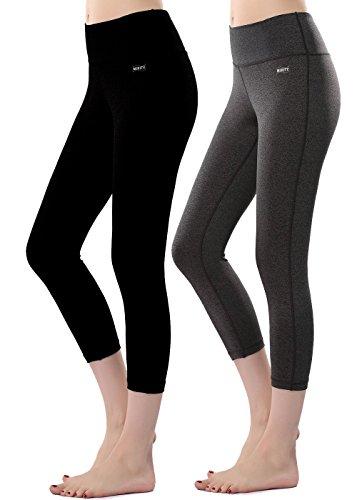 MIRITY Spandex Activewear Yogapants BlackGrey