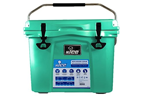 nICE Cooler, Seafoam Green, 22 Quart