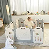 Fortella Cloud Castle Foldable Playpen, Baby Safety