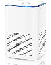 Luftrenare för allergier med HEPA-filter och aktivt kolfilter Stationär luftrenare med nattljus och doftande bomull för lägenheter, rökare (SY-702)
