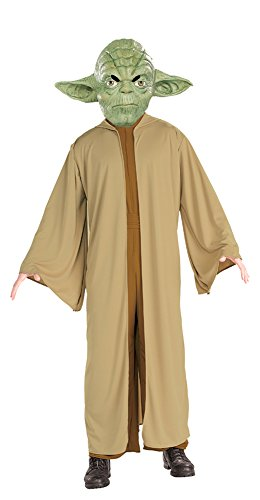 [Yoda Costume Adult Costume Xl 44-46 Adult Mens Costume] (Yoda Costumes For Adults)