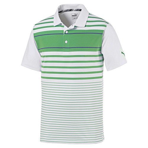 Puma Golf Men's 2019 Spotlight Polo, Irish Green-Surf The Web, x Large