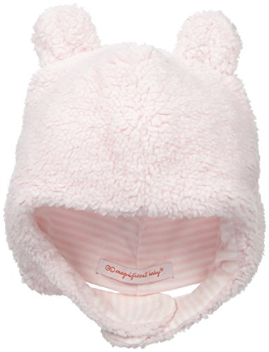 Magnificent Baby Baby-Girls Fleece Hat, Pink Icing, 6-12 Months (Hats Fleece Infant)