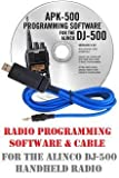 Best DJs With Softwares - Alinco DJ-500 Two-Way Radio Programming Software & Cable Review