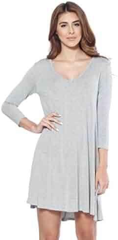 1328e1c6c194 Shopping Greys - V-Neck - Stripes or Solid - 1 Star & Up - Dresses ...