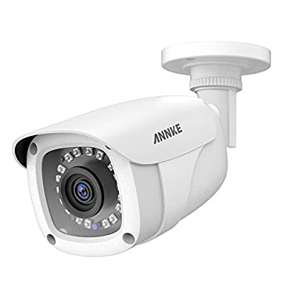 ANNKE 1080P CCTV Home Surveillance Bullet Camera, Security Camera with IP66 Weatherproof and Dustproof for Outdoor Use from ANNKE