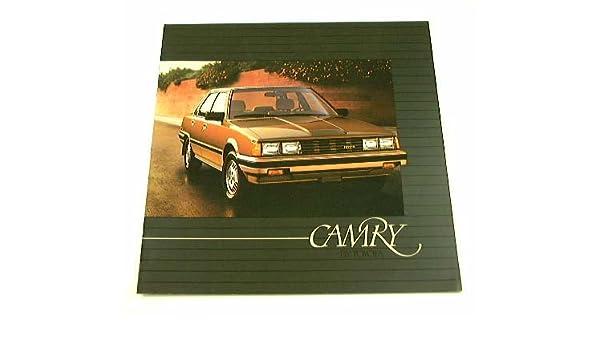 Amazon.com: 1984 84 Toyota CAMRY BROCHURE Sedan LE Deluxe Liftback: Everything Else