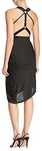 Free People Charcoal (Free People Temptress Sleeveless Metallic Dress Charcoal Combo X-small)