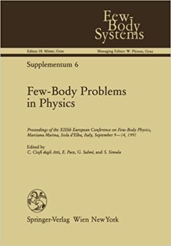 Book Few-Body Problems in Physics: 'Proceedings of the XIIIth European Conference on Few-Body Physics, Marciana Marina, Isola d'Elba, Italy, September 9-14, 1991' (Few-Body Systems)