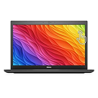 "Dell Latitude 7480 14"" Touchscreen Laptop, Intel Core i7 7600U 2.8Ghz, 8GB DDR4, 512GB M.2 SSD, QHD 1440p, Thunderbolt 3 USB C, HDMI, Webcam, Windows 10 Pro x64 (Renewed)"