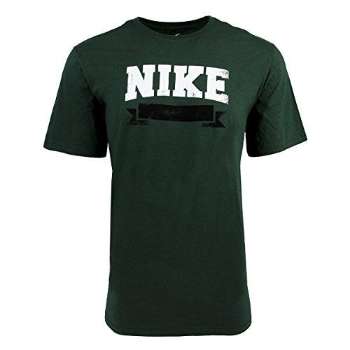 Nike Men's Banner Graphic T-Shirt, Forest Green, 3XL