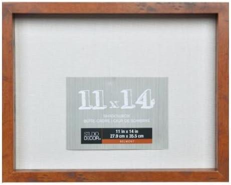 7cm x 7cm, Honey) - Studio Decor Heavy Duty Wood Frame 7.7cm