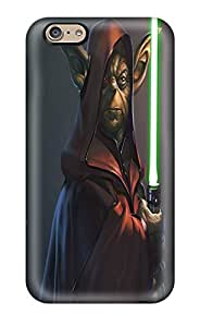 High-end Case Cover Protector For Iphone 6(star Wars Yoda)(3D PC Soft Case)
