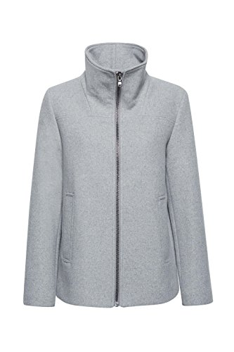5 Femme Esprit 044 light Grey Manteau Gris q5XrwqT