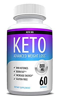Keto Diet Pills from Shark Tank - Appetite Suppressant for Women & Men - Reach Ketosis Fast - Energy & Metabolism Boost - 60 Count