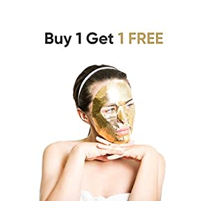 Elixir Gold Korean Face Mask | Collagen & Anti Aging Wrinkle Treatment | Luxury Peel Off Moisturizing Facial Sheet