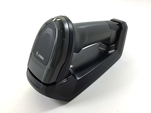 Zebra DS8178 Series Cordless Handheld Scanner Kit with Shielded USB Cable and FIPS Standard Cradle, Black (DS8178-SR7U2100SFW)