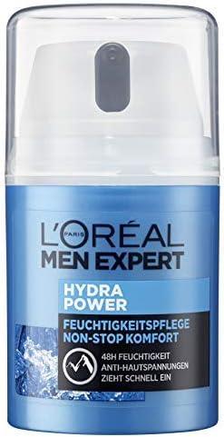 LOréal Men Expert Hydra Power cuidado hidratante, día y noche para hombres, 1 pack de 50 ml: Amazon.es: Belleza