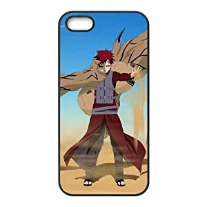 iphone5 5s Black phone case Naruto Gaara Best gift for boys NOF3722626